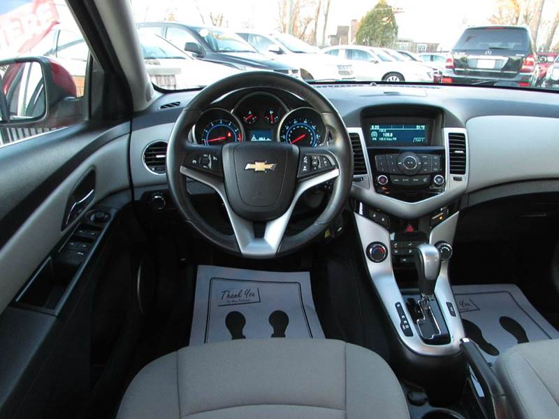 2012 Chevrolet Cruze for sale at Twins Auto Sales Inc - Redford Lot in Redford MI