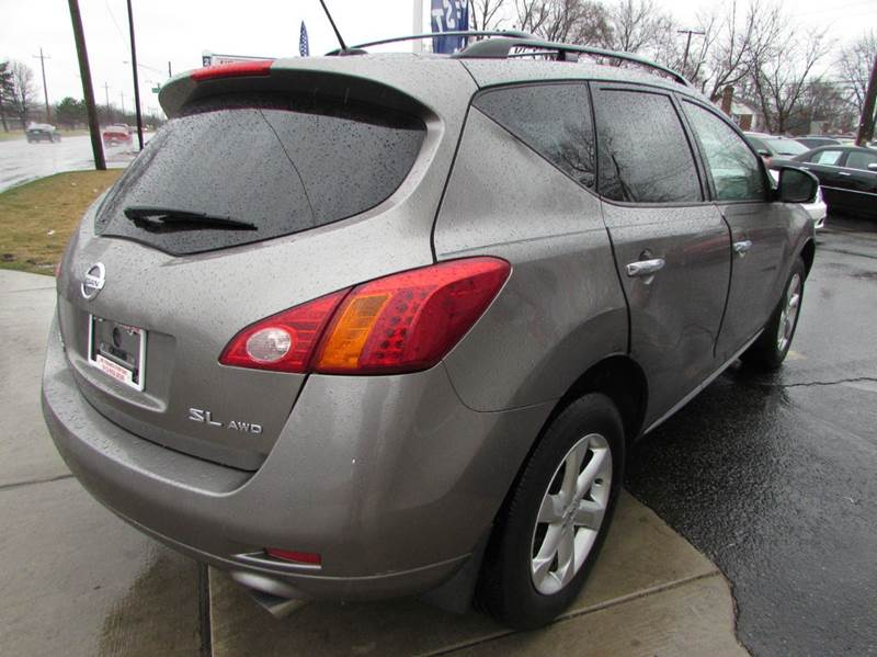 2009 Nissan Murano for sale at Twins Auto Sales Inc - Redford Lot in Redford MI