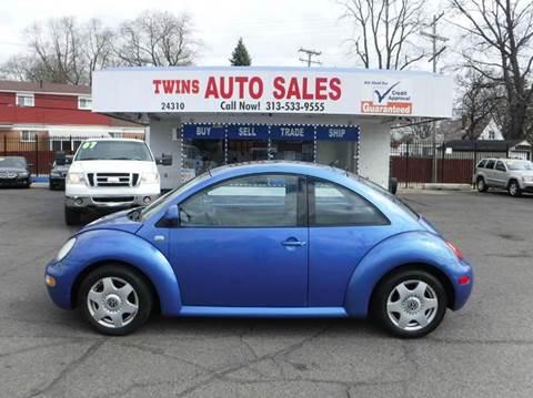 2000 Volkswagen New Beetle for sale at Twins Auto Sales Inc - Detroit Lot in Detroit MI
