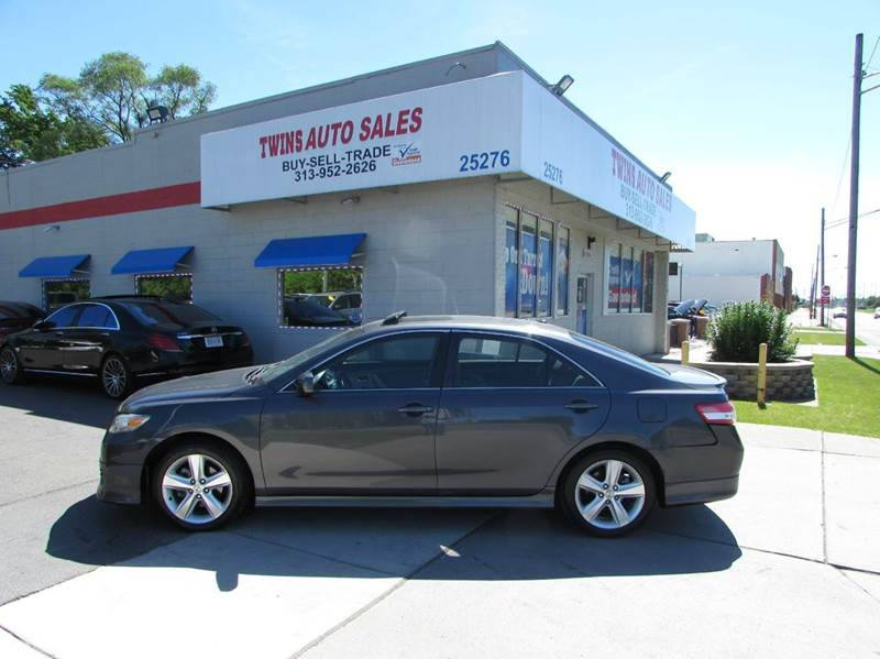 2011 Toyota Camry for sale at Twins Auto Sales Inc - Redford Lot in Redford MI