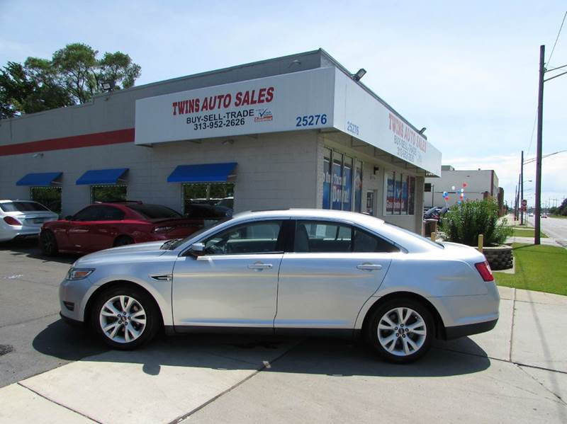 2010 Ford Taurus for sale at Twins Auto Sales Inc - Redford Lot in Redford MI