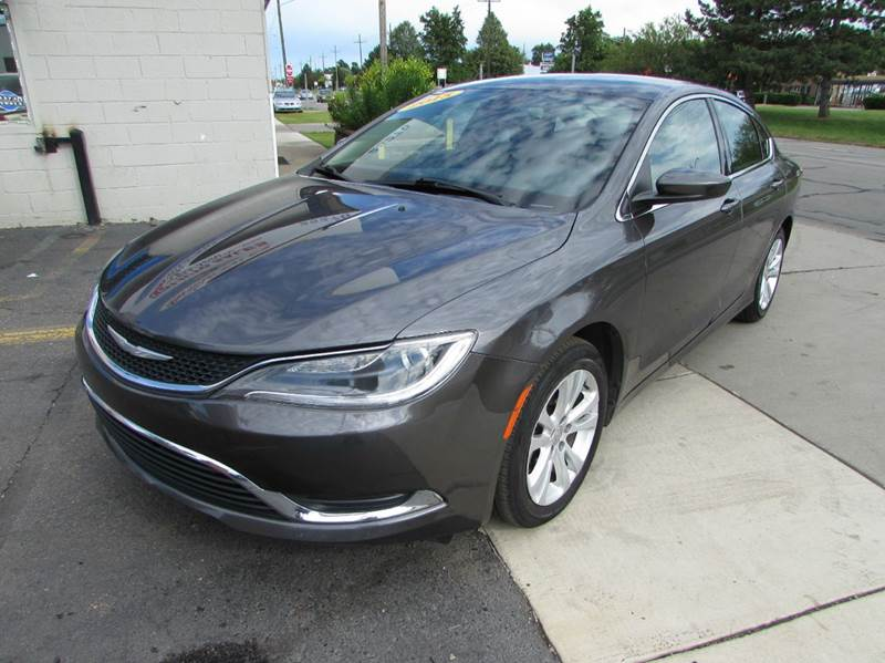 2015 Chrysler 200 for sale at Twins Auto Sales Inc - Redford Lot in Redford MI