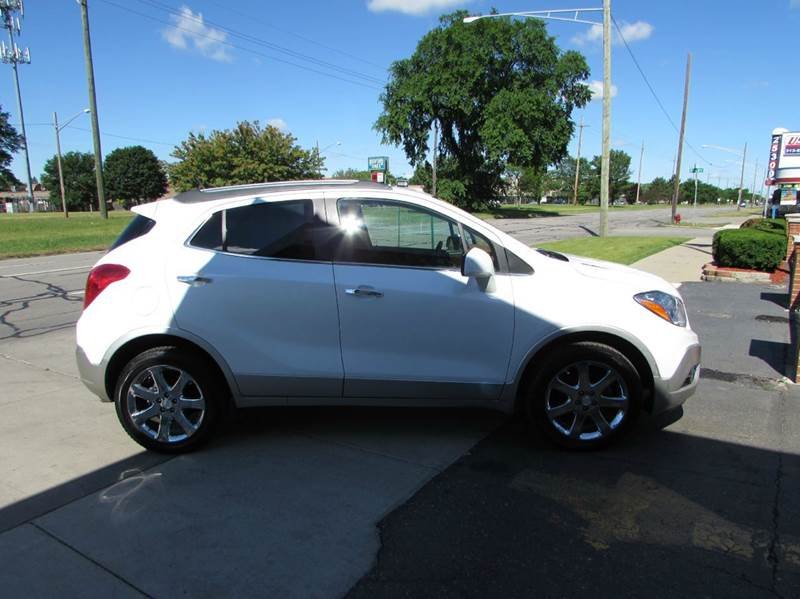 2013 Buick Encore for sale at Twins Auto Sales Inc - Redford Lot in Redford MI