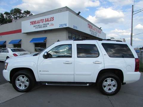 2007 Chevrolet Tahoe for sale at Twins Auto Sales Inc - Redford Lot in Redford MI