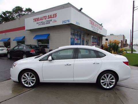 2014 Buick Verano for sale at Twins Auto Sales Inc - Redford Lot in Redford MI