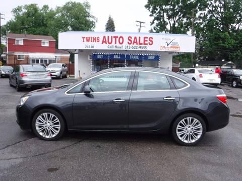 2014 Buick Verano for sale at Twins Auto Sales Inc - Detroit Lot in Detroit MI