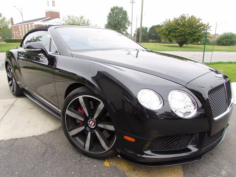 2014 Bentley Continental GTC V8 S for sale at Twins Auto Sales Inc - Detroit Lot in Detroit MI