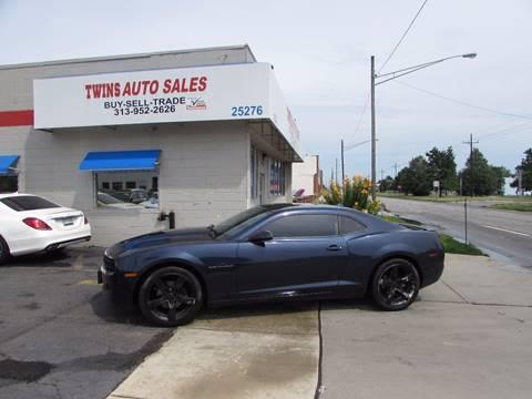 2012 Chevrolet Camaro for sale at Twins Auto Sales Inc - Redford Lot in Redford MI