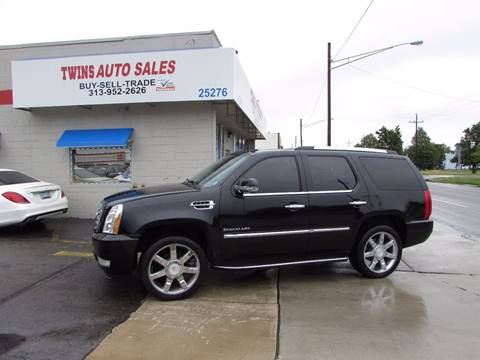 2007 Cadillac Escalade for sale at Twins Auto Sales Inc - Redford Lot in Redford MI