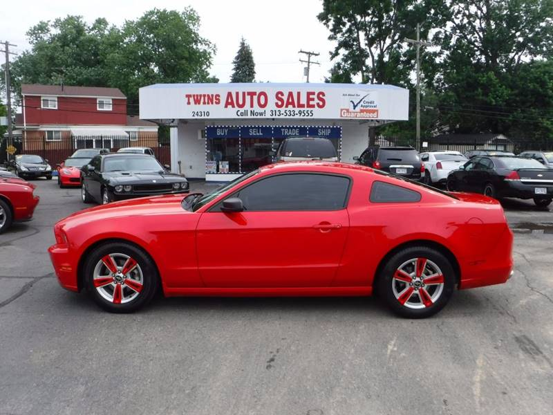 2014 Ford Mustang for sale at Twins Auto Sales Inc - Detroit Lot in Detroit MI