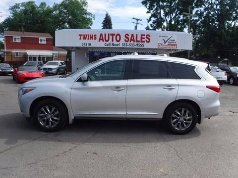 2014 Infiniti QX60 for sale at Twins Auto Sales Inc - Detroit Lot in Detroit MI
