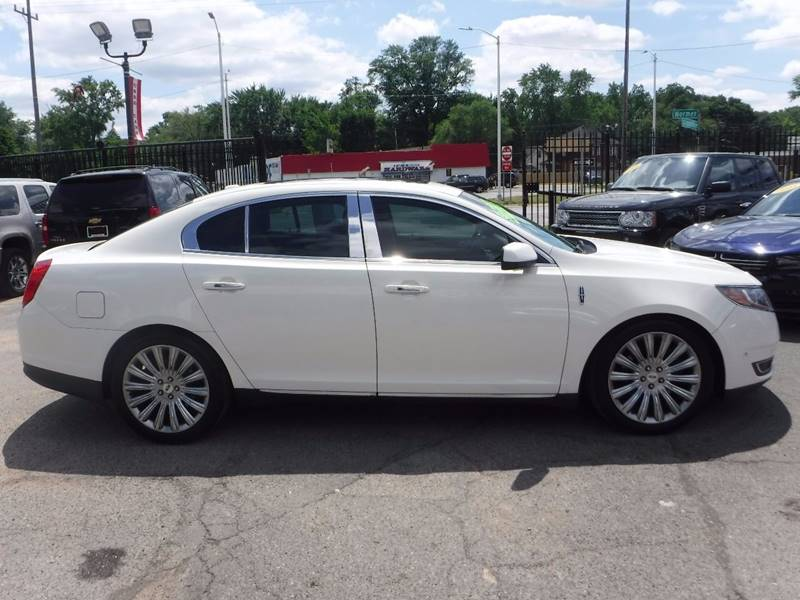 2013 Lincoln MKS for sale at Twins Auto Sales Inc - Redford Lot in Redford MI