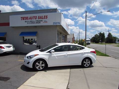 2013 Hyundai Elantra for sale at Twins Auto Sales Inc - Redford Lot in Redford MI