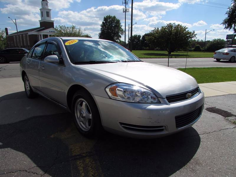 2007 Chevrolet Impala for sale at Twins Auto Sales Inc - Redford Lot in Redford MI