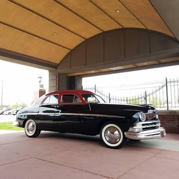 1950 Lincoln sports sedan for sale at Twins Auto Sales Inc - Detroit Lot in Detroit MI
