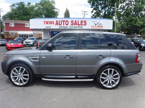 2011 Land Rover Range Rover Sport for sale at Twins Auto Sales Inc - Detroit Lot in Detroit MI