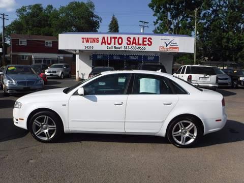 2007 Audi A4 for sale at Twins Auto Sales Inc - Detroit Lot in Detroit MI