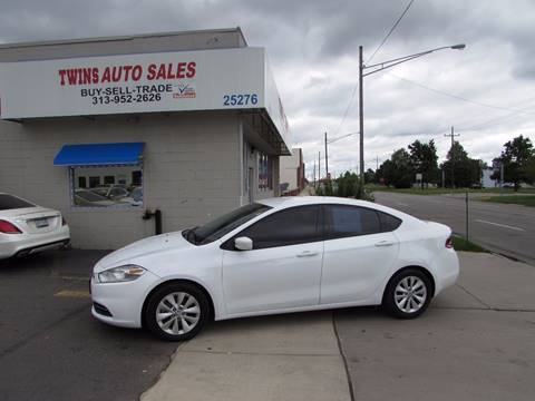 2015 Dodge Dart for sale at Twins Auto Sales Inc - Redford Lot in Redford MI