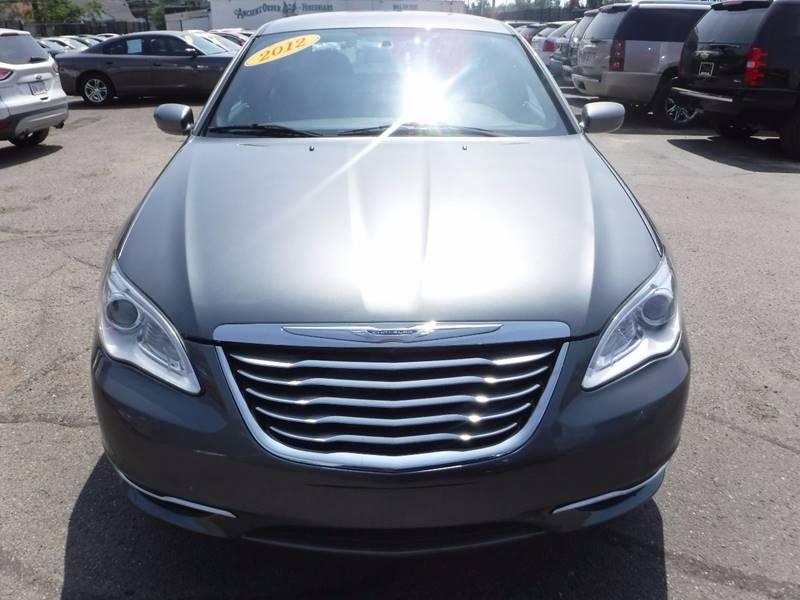 2012 Chrysler 200 for sale at Twins Auto Sales Inc - Detroit Lot in Detroit MI