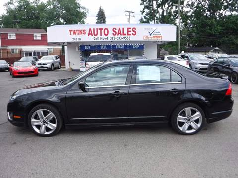 2012 Ford Fusion for sale at Twins Auto Sales Inc - Detroit Lot in Detroit MI