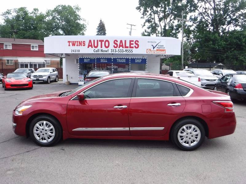 2015 Nissan Altima for sale at Twins Auto Sales Inc - Detroit Lot in Detroit MI