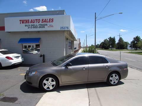 2012 Chevrolet Malibu for sale at Twins Auto Sales Inc - Redford Lot in Redford MI