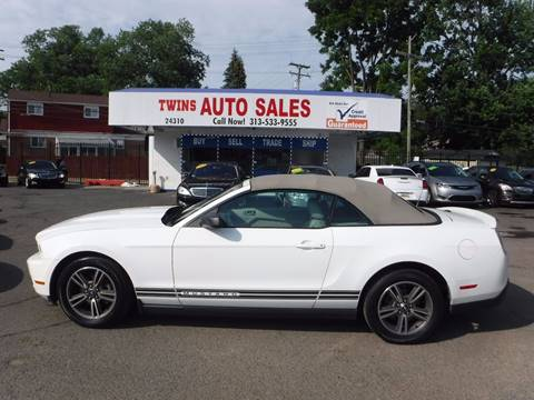 2010 Ford Mustang for sale at Twins Auto Sales Inc - Detroit Lot in Detroit MI