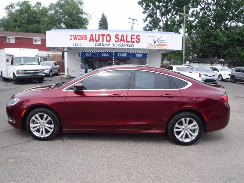 2016 Chrysler 200 for sale at Twins Auto Sales Inc - Detroit Lot in Detroit MI