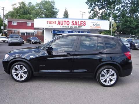 2011 BMW X3 for sale at Twins Auto Sales Inc - Detroit Lot in Detroit MI