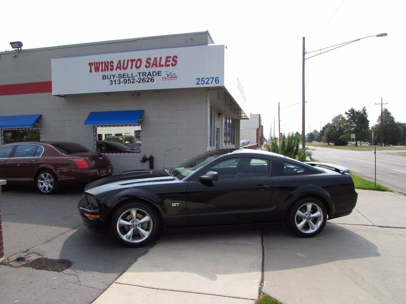 2007 Ford Mustang for sale at Twins Auto Sales Inc - Redford Lot in Redford MI