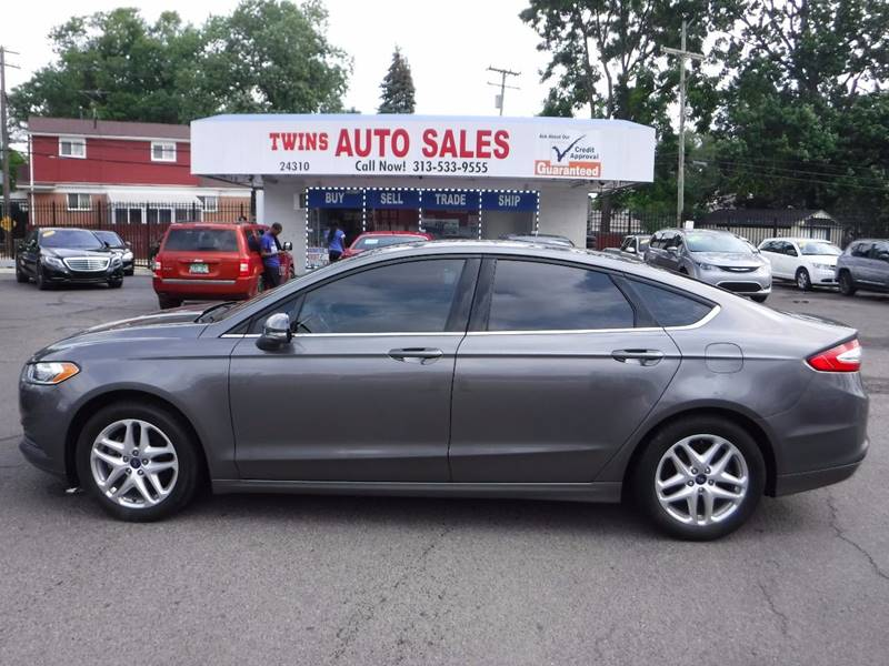 2014 Ford Fusion for sale at Twins Auto Sales Inc - Detroit Lot in Detroit MI