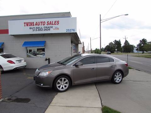 2011 Buick LaCrosse for sale at Twins Auto Sales Inc - Redford Lot in Redford MI
