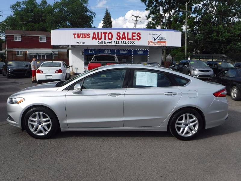 2016 Ford Fusion for sale at Twins Auto Sales Inc - Detroit Lot in Detroit MI