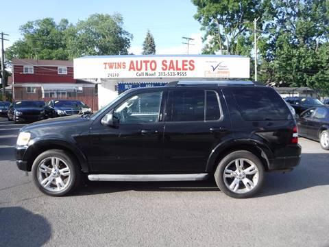 2010 Ford Explorer for sale in Detroit, MI
