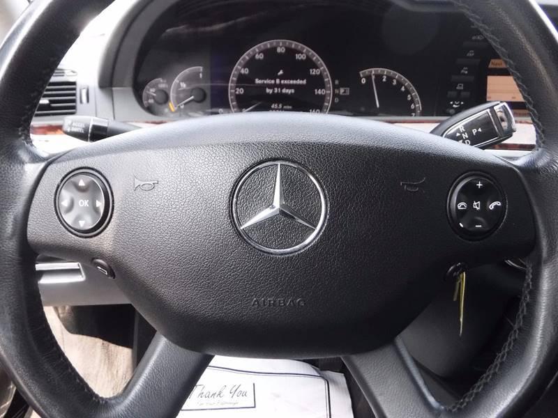2007 Mercedes-Benz S-Class for sale at Twins Auto Sales Inc - Detroit Lot in Detroit MI