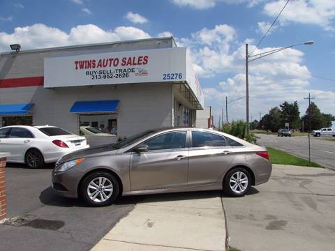 2014 Hyundai Sonata for sale at Twins Auto Sales Inc - Redford Lot in Redford MI