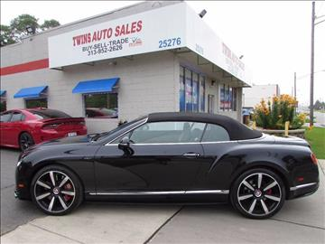 2014 Bentley Continental GTC V8 S for sale in Redford, MI