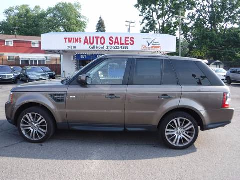 2011 Land Rover Range Rover Sport for sale in Redford, MI