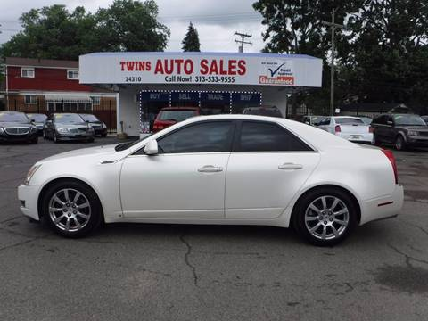 2008 Cadillac CTS for sale in Redford, MI