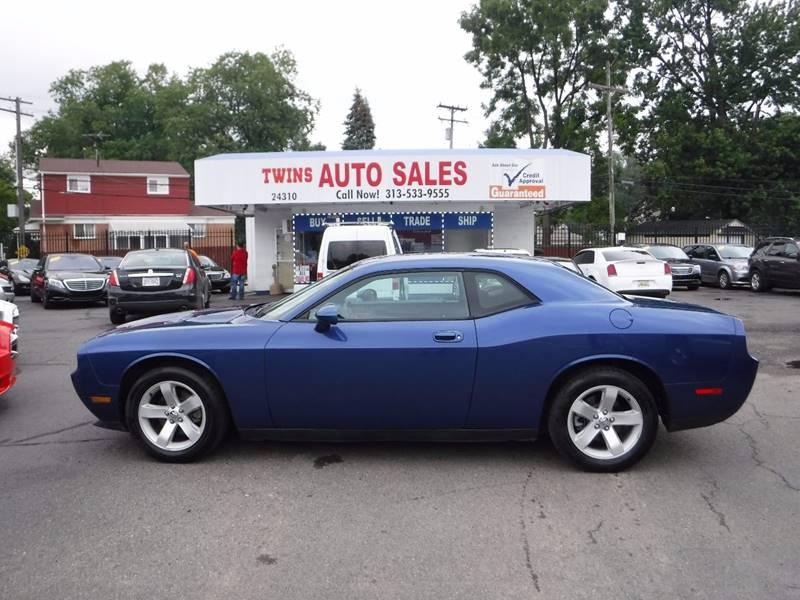 2010 Dodge Challenger For Sale >> 2010 Dodge Challenger Se In Detroit Mi Twins Auto Sales Inc