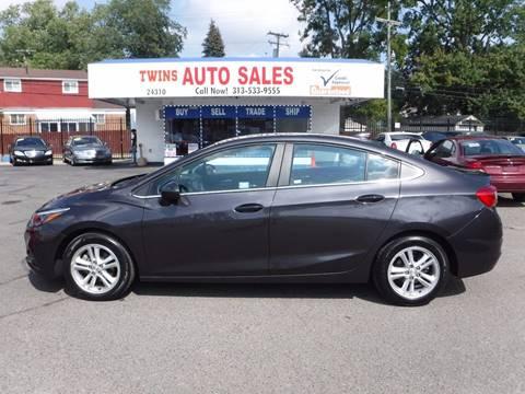 2016 Chevrolet Cruze for sale at Twins Auto Sales Inc - Detroit Lot in Detroit MI