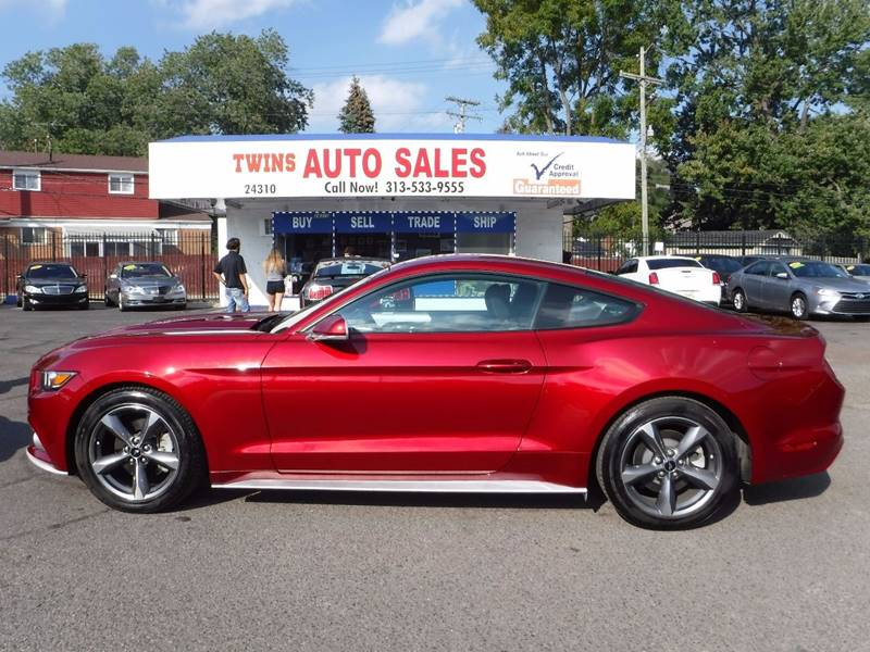 2016 Ford Mustang for sale at Twins Auto Sales Inc - Detroit Lot in Detroit MI