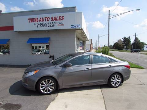 2011 Hyundai Sonata for sale at Twins Auto Sales Inc - Redford Lot in Redford MI