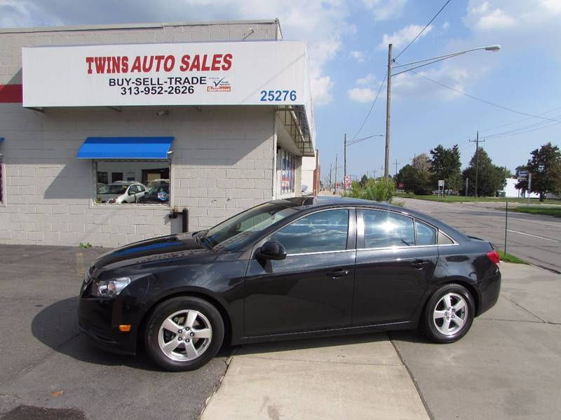2014 Chevrolet Cruze for sale at Twins Auto Sales Inc - Redford Lot in Redford MI