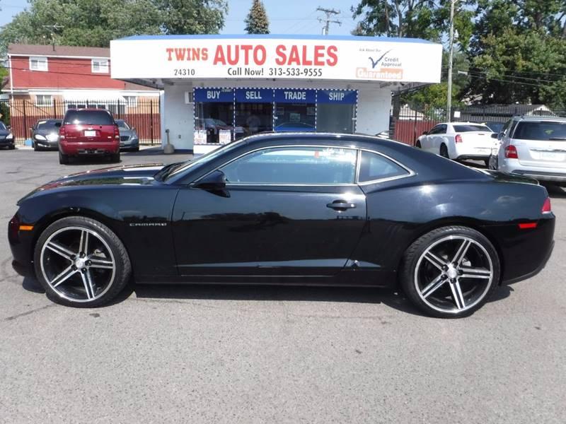 2014 Chevrolet Camaro for sale at Twins Auto Sales Inc - Detroit Lot in Detroit MI