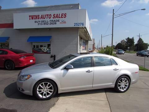 2011 Chevrolet Malibu for sale at Twins Auto Sales Inc - Redford Lot in Redford MI