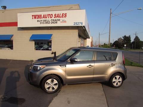 2015 Kia Soul for sale at Twins Auto Sales Inc - Redford Lot in Redford MI