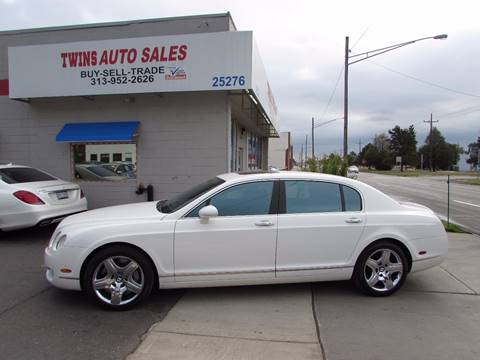 2008 Bentley Continental Flying Spur for sale in Redford, MI