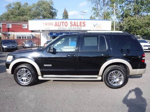 2007 Ford Explorer for sale in Detroit, MI