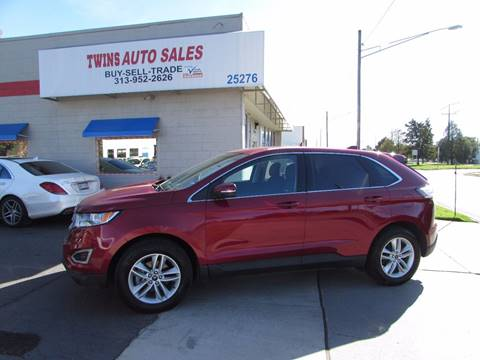 2015 Ford Edge for sale in Redford, MI